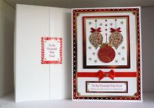 Christmas Card Wife/Husband/Girlfriend/Boyfriend etc Large Boxed Personalised