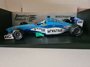 1:18 Minichamps F1 Benetton Playlife B199 G.Fisichella 1999  180 9900099