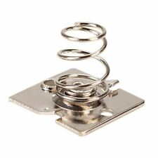 Keystone Slot-In Contact AA Coiled Spring -ve Carrier Holder (2 Pack)