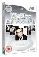 We Sing Robbie Williams (Wii) Solo Party Karaoke Iconic Songs FAST FREE DELIVERY
