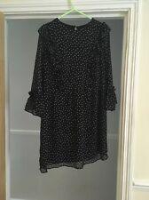 Topshop Polka Dot Dress Size 8 Petite