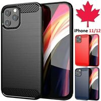iPhone 11 / 12 Case - Carbon Fiber Shockproof Back Cover For iPhone Pro Max
