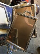 serving trays, Two, Silver Colour, Serviertablett