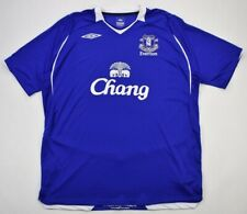 Umbro 2008-09 EVERTON KOSZULKA XXL Shirt Jersey Kit