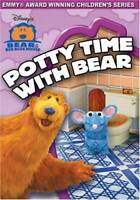 Bear in the Big Blue House - Potty Time With Bear - DVD - VERY GOOD
