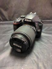 Nikon D3400 24.2 MP Digital SLR Camera with DX AF-S 55-200mm lens