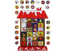 SALE - Advent House Fridge Magnets - Christmas Advent Calendar