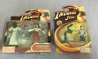 2x Hasbro Indiana Jones Actionfigur-Set: M. Ravenwood + Henchman, Mutt Williams