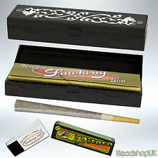 Slimline Stash Rolling Box and Accessories   Small and Portable