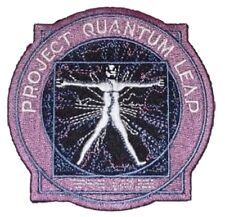 Quantum Leap Tv Show Logo Embroidered Patch