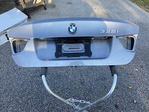 BMW E90 335i 328i LCI Trunk Lid Deck Panel Gray 3 Series Genuine Oem 09-11