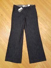 Womens NEW LOFT Ann Taylor Marisa Trouser Fit Low Rise Dark Denim Jeans Size 8