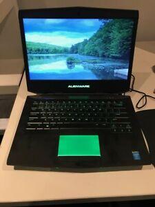 alienware 14 i5 4200m 16GB RAM NVIDIA GEFORCE 750M & 500GB SSD