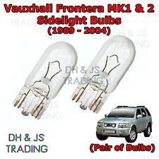 Vauxhall Combo MK1 White LED /'Trade/' Wide Angle Side Light Beam Bulbs Pair