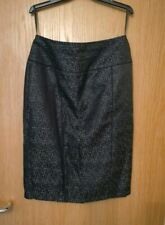M&S.ladies grey mix lined skirt,size 10.£5.99.