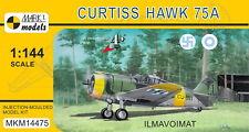 """Mark I Models 1/144 Modèle Kit 14475 CURTISS H-75A """"Ilmavoimat"""" Curtiss Hawk 75 A"""