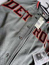 mlb mitchell and ness jersey detroit tigers baseball