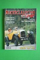 Ruoteclassiche Wheels Classic N°131 Settembre 1999 Citroen 5CV 1925 Fiat 1200S