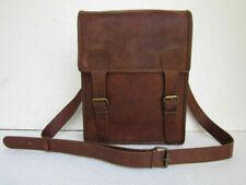 Brown Messenger Bag Shoulder Laptop Bags business Goat perfect Leather Vintage