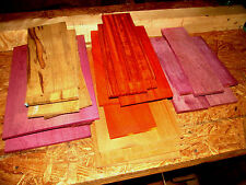 Colorful Scrap Lumber Of Various Sizes Kiln Dried Thin Exotic & Domestic Lumber