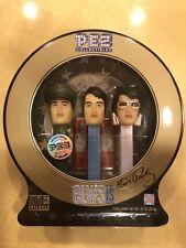 Elvis Presley Pez Dispenser 2007 Collector Set Still Sealed Music Cd Included