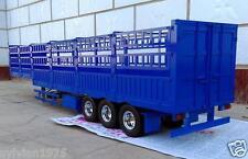 3-axis Large Aluminum Cargo Trailer for all Tamiya 1/14 Tractor Truck Nib