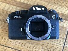 Nikon Fm3A Slr Film Camera - Black (Body Only) Free Shipping