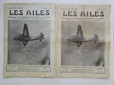 AILES 1939 929 WELLINGTON HENSCHEL HS-123 MONTGOLFIERE MAREK EMMER POU FOKKER G1