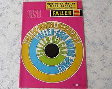 Faller Modelismo Año Catálogo 1970