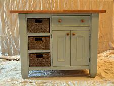 ISOLA cucina fatto a mano legno massello verniciato in un colore di tua scelta