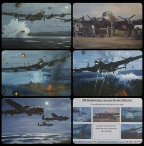 Christmas Card Pack of 5 '617 Squadron Avro Lancaster Bomber' Aviation/Aircraft