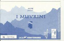 RARE / TICKET BILLET CONCERT - I MUVRINI : LIVE A CANARI ( FRANCE CORSE ) 2003