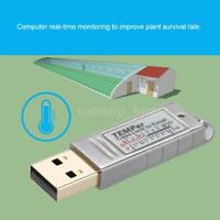 USB Sensitive Waterproof Temperature Sensor Data Logger Recorder for Windows