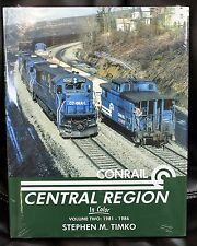 MORNING SUN BOOKS - CONRAIL CENTRAL REGION In Color Volume 2 - HC 128 Pages