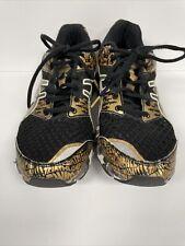 Asics Gel Noosa Tri 8 Women's Size 10 Triathon Running Shoes T3S8N Gold Black