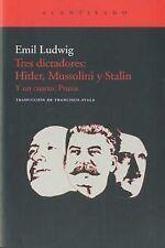 Tres dictadores: Hitler, Mussolini y Stalin. ENVÍO URGENTE (ESPAÑA)