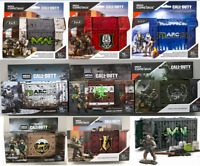 HUGE LOT  MEGA CALL OF DUTY ARMORY CONTAINER WEAPON CRATE FIGURE & WEAPONS SETS