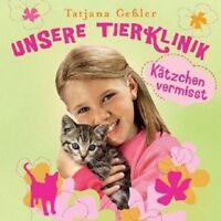 "UNSERE TIERKLINKI ""KÄTZCHEN VERMISST"" CD HÖRSPIEL NEU"