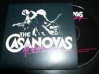 The Casanovas All Night Long Australian Card Sleeve Promo CD