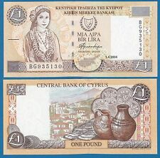 Cyprus 1 Pound P 60 d 2004 UNC  Low Shipping! Combine FREE!
