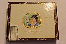 Vintage LA FLOR DE GARCIA Y VEGA Fine Cigars Since 1882 Box