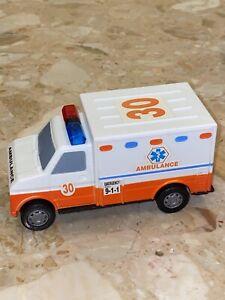 "VERY RARE Vintage 1999 Boley Ambulance 5.75"" Plastic Toy Vehicle 1:32 Scale"