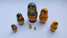 poupée russe matriochka 6 pieces