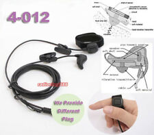 Ear Bone Vibration earpiece mic mini-din finger VX130, VX160, VX-168,VX180,VX410