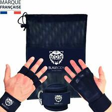 Gant Manique Crossfit Grip + Sangle Cheville Poulie Musculation Fitness Sport
