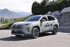 Toyota Rav4 mk5 SUV 5 portes 2019-up 4 pieces Front Vent Déflecteurs HEKO tinted