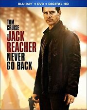 Jack Reacher: Never Go Back [New Blu-ray] With DVD, Widescreen, 2 Pack, Ac-3/D