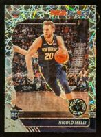 Nicolo Melli LAZER PRIZM ROOKIE CARD HOT!🔥💎 2019-20 NBA Hoops Premium Stock RC