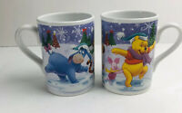 disney winnie the pooh And Freinds Winter Mug Lot Of 2 Tigger Eeyore Piglet Mug