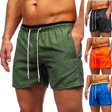 Badeshorts Shorts Schwimmhose Badehose Schwimmshort Mix Herren BOLF Unifarben